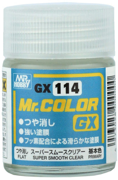 Mr Color GX114 - Super Smooth Clear Flat