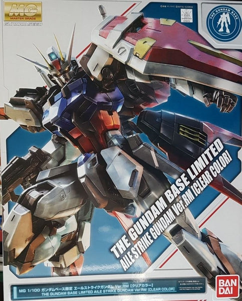 MG The Gundam Base Limited Aile Strike Gundam Ver. RM Clear Color