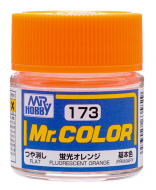 Mr. Color 173 - Fluorescent Orange (Gloss/Primary) C173