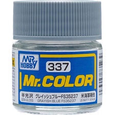 Mr. Color 337 - Grayish Blue FS35237 (Semi-Gloss/Aircraft) C337