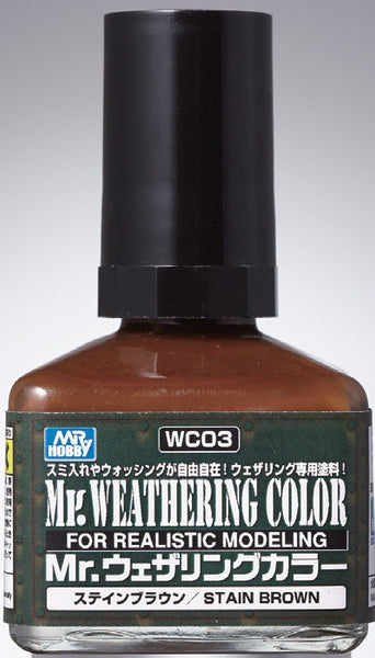 Mr. Weathering Color WC03 - Stain Brown