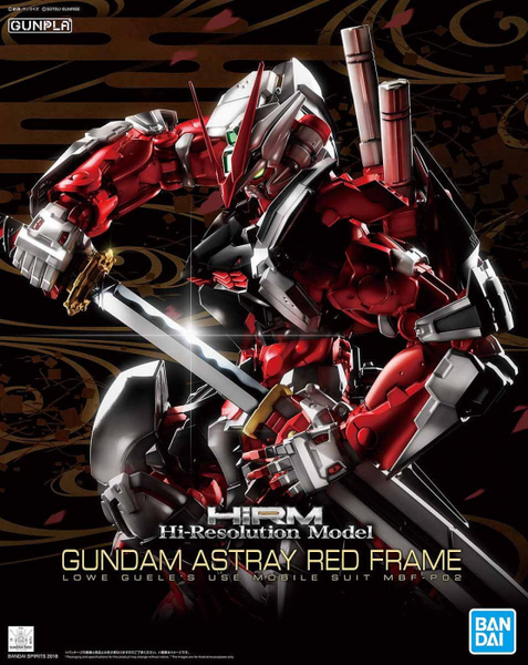 High-Resolution Model Gundam Astray Red Frame 1/100