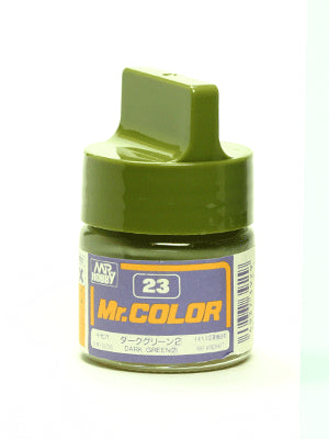Mr. Color 23 - Dark Green (2) (Semi-Gloss/Aircraft) C23