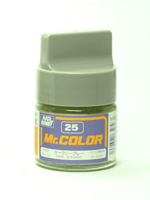 Mr. Color 25 - Dark Seagray (Semi-Gloss/Aircraft) C25