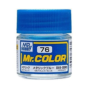 Mr. Color 76 - Metallic Blue (Metallic/Primary Car) C76