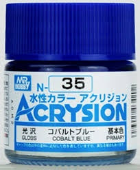 Acrysion N35 - Cobalt Blue (Gloss/Primary)