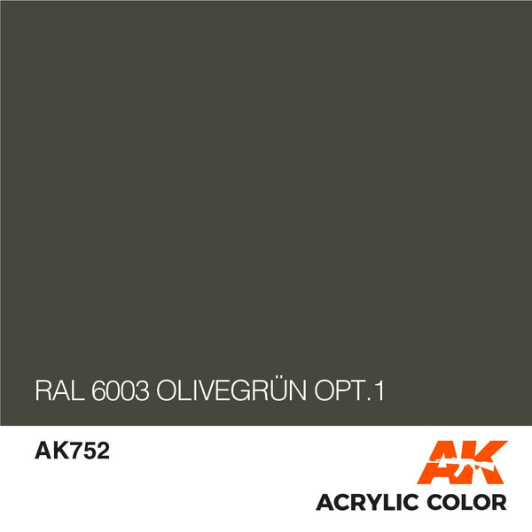 AK752 RAL 6003 Olivegrün opt.1-17ml
