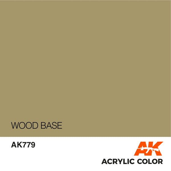 AK779 Wood Base 17ml