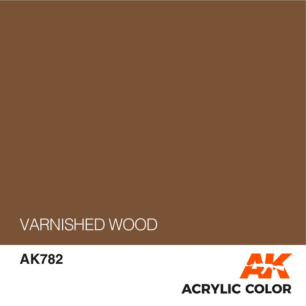 AK782 Varnished Wood 17ml