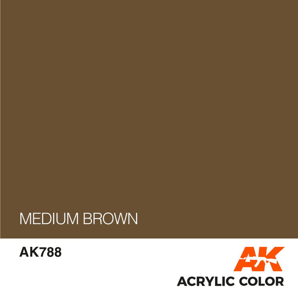 AK788 Medium Brown 17ml