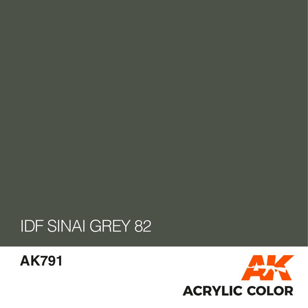 AK791 IDF Sinai Grey 82-17ml