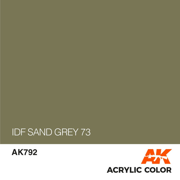 AK792 IDF Sand Grey 73-17ml