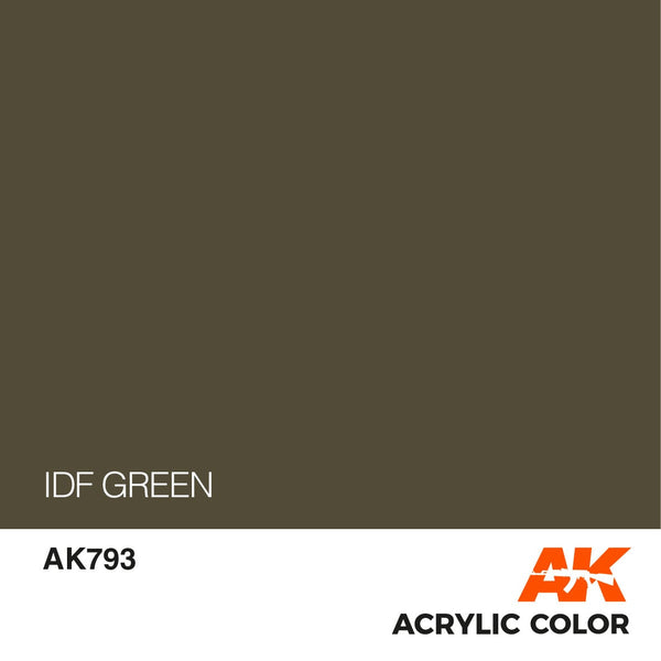 AK793 IDF Green 17ml