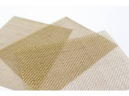 Brass Wire C Mesh #30 (Reticulation 0.61mm, Wire Diameter 0.23mm)