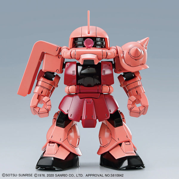 SDCS Hello Kitty Char's Zaku II MS-06S