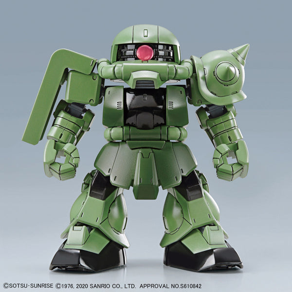 SDCS Hello Kitty Zaku II MS-06F