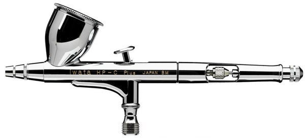 Iwata High Performance HP-C Plus Gravity Feed Dual Action Airbrush H4001