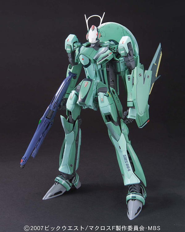 Macross Frontier RVF-25 Luca Custom with Ghost 1/72