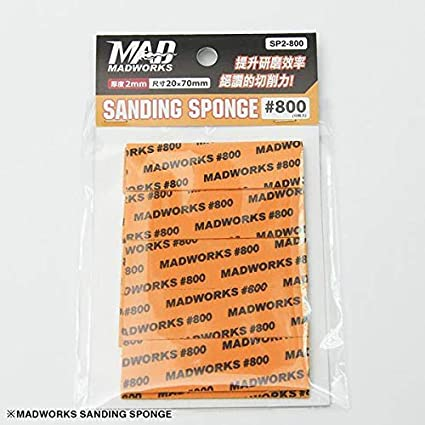 Madworks #800 3mm Sanding Sponge SP3-800