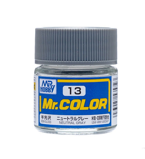 Mr. Color 13 - Neutral Gray (Semi-Gloss/Aircraft) C13
