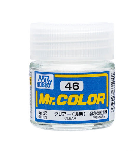 Mr. Color 46 - Clear (Gloss/Primary) C46