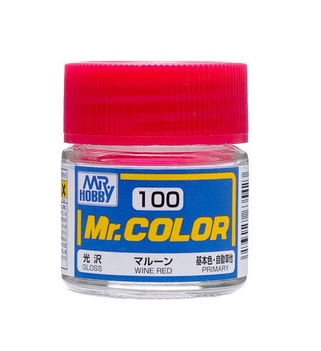 Mr Color 100 - Wine Red (Gloss/Primary) C100