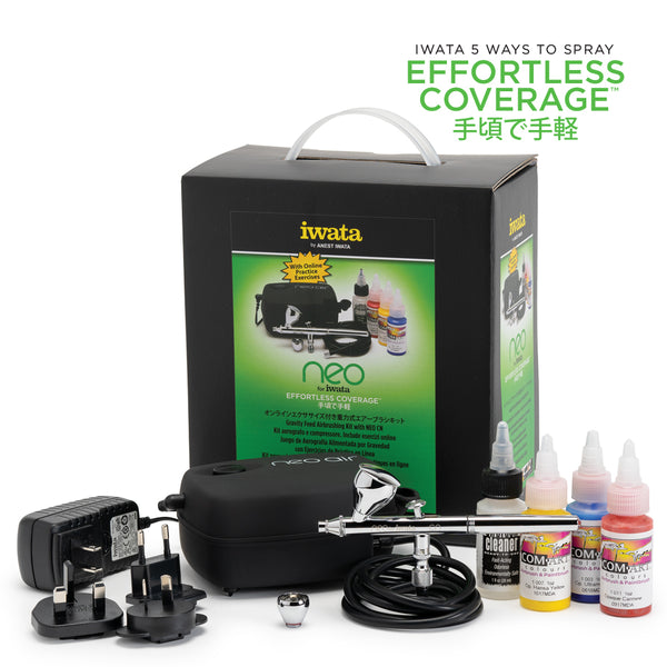 NEO for Iwata Gravity Feed Airbrushing Kit with NEO CN IW120