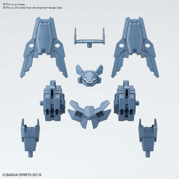 [Pre Order ][ETA Feb] 30MM Option Armor for Commander [Cielnova Exclusive / Blue Gray] 1/144