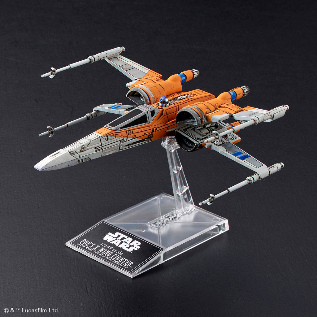 Sw Poe S X Wing Fighter X Wing Fighter Star Wars The Rise Of Skyw Panda Hobby
