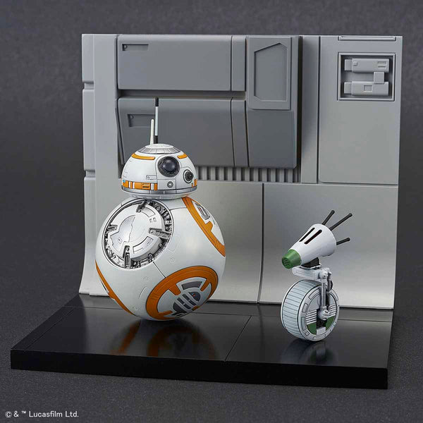SW - BB-8 & D-O Diorama Set 1/12