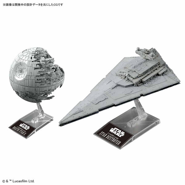 SW - Death Star II & Star Destroyer