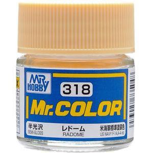 Mr. Color 318 - Radome (Semi-Gloss/Aircraft) C318