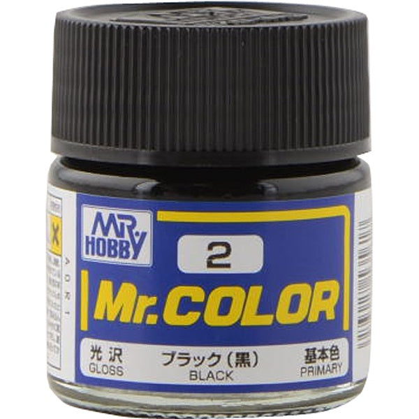 Mr. Color 2 - Black (Gloss/Primary) C2
