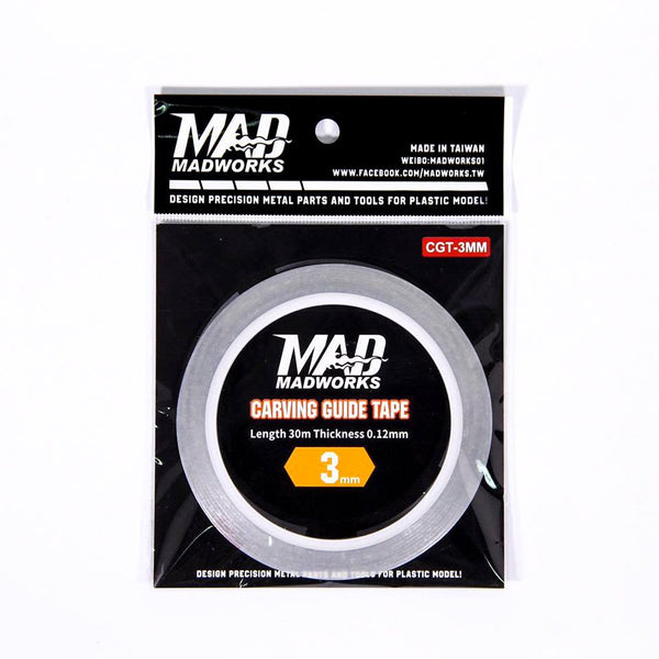 MAD - Carving Guide Tape 3mm CGT-3MM