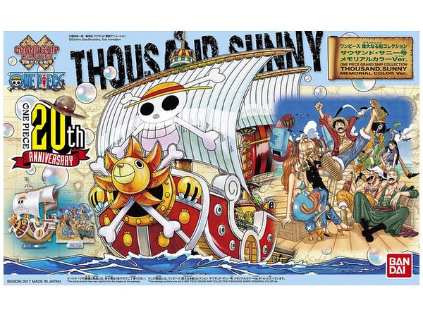 OP - Grand Ship Collection - Thousand Sunny Memorial Color Ver.