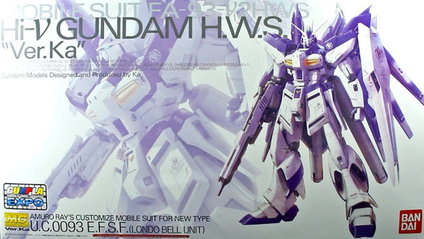 MG Hi Nu Gundam HWS Ver. Ka [Mechanical Clear] 1/100