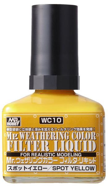 Mr. Weathering Color WC10 - Filter Liquid Yellow