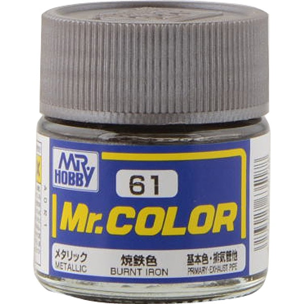 Mr. Color 61 - Burnt Iron (Metallic/Primary Car) C61