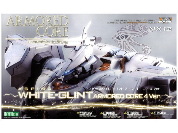 Armored Core - Aspina White-Glint Armored Core 4 Ver. 1/72