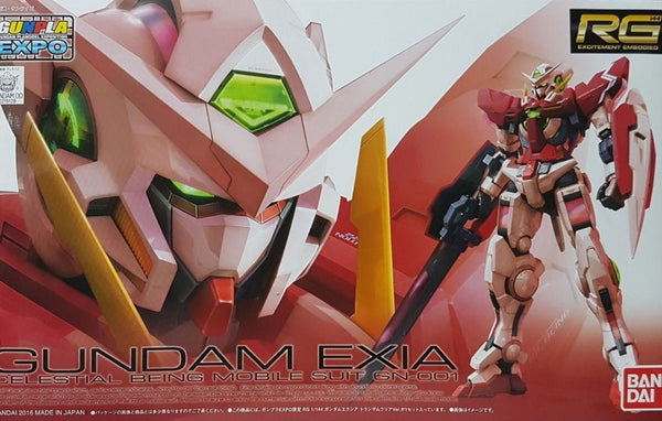 RG Gundam Exia Trans-Am Clear Color Expo Ver. 1/144
