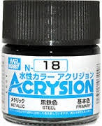 Acrysion N18 - Steel (Metallic/Primary)