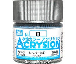 Acrysion N8 - Silver (Metallic/Primary)