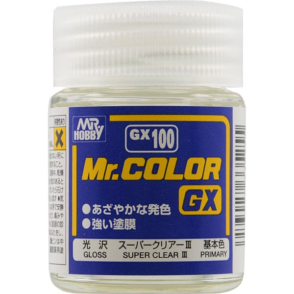 Mr Color GX100 - Super Clear III