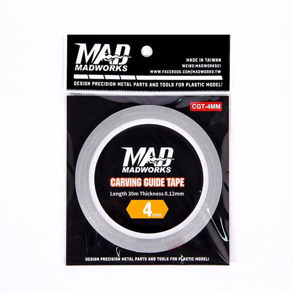 MAD - Carving Guide Tape 4mm CGT-4MM