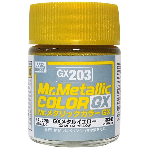 Mr Color GX203 Metal Yellow