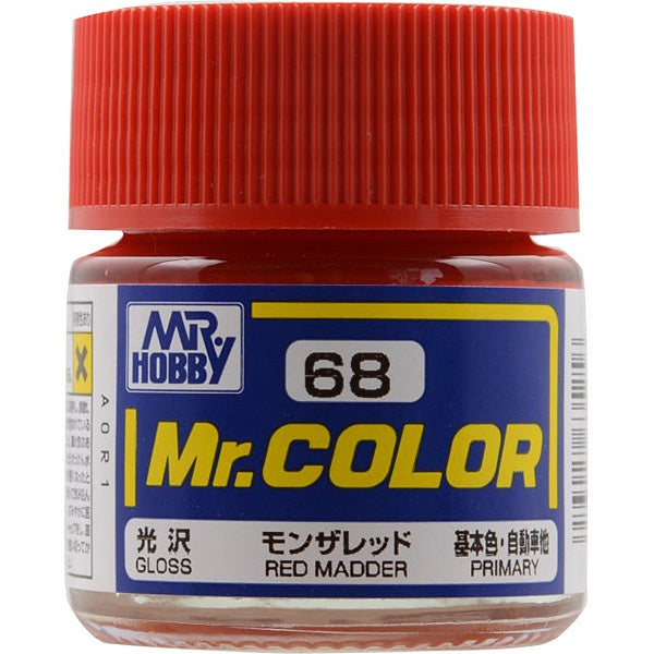 Mr. Color 68 - Red Madder (Gloss/Primary Car) C68