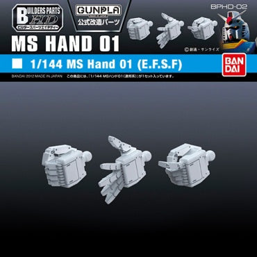 Builders Parts - HD 1/144 MS Hand 01 (E.F.S.F.)