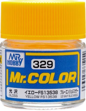 Mr. Color 329 - Yellow FS13538 (Gloss/Aircraft) C329