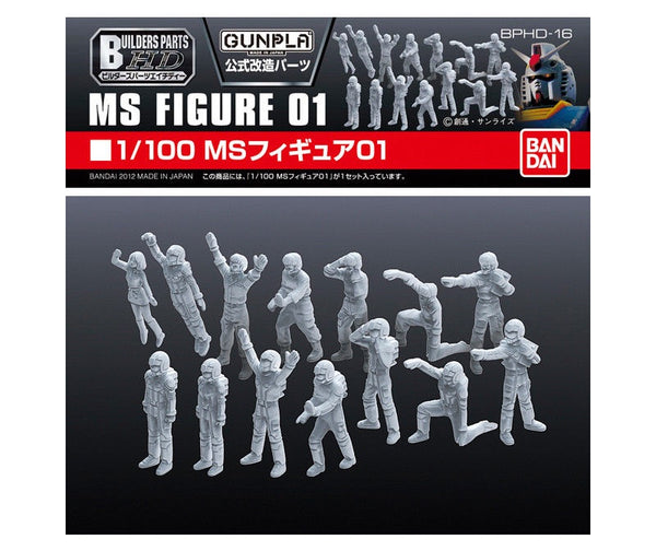 Builders Parts - HD 1/100 MS Figure 01