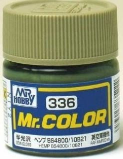 Mr. Color 336 - Hemp BS4800/10B21 (Semi-Gloss/Aircraft) C336
